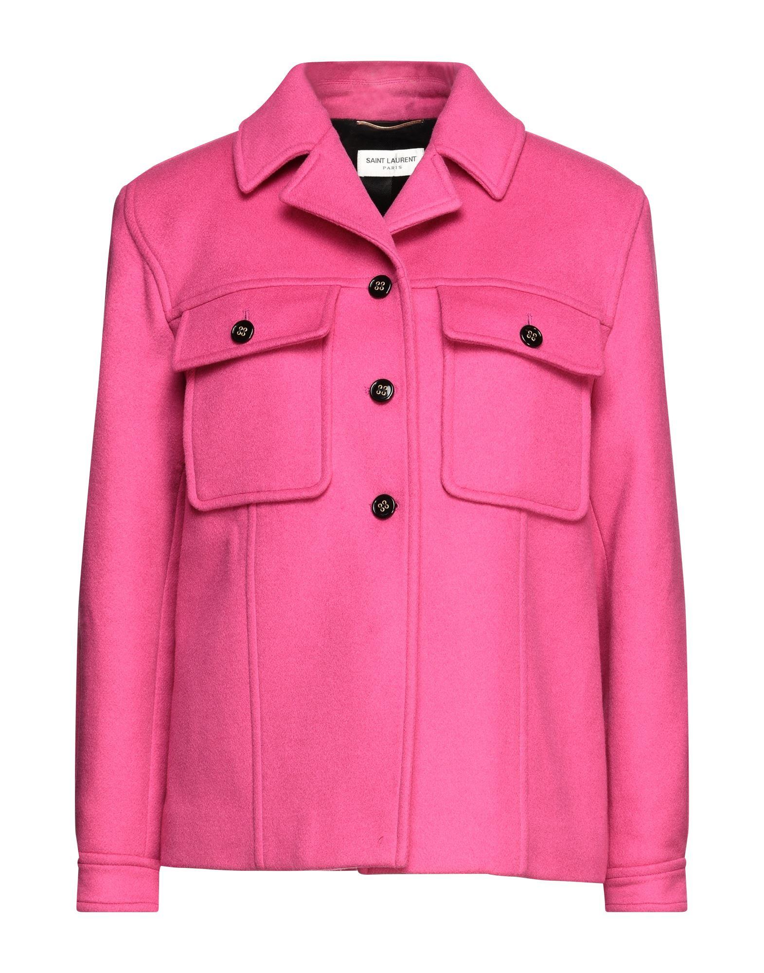 SAINT LAURENT Coats - Item 49642757
