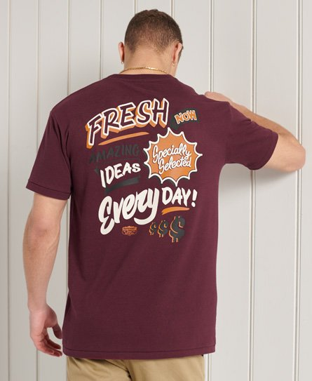 Superdry Workwear Box Fit T-Shirt