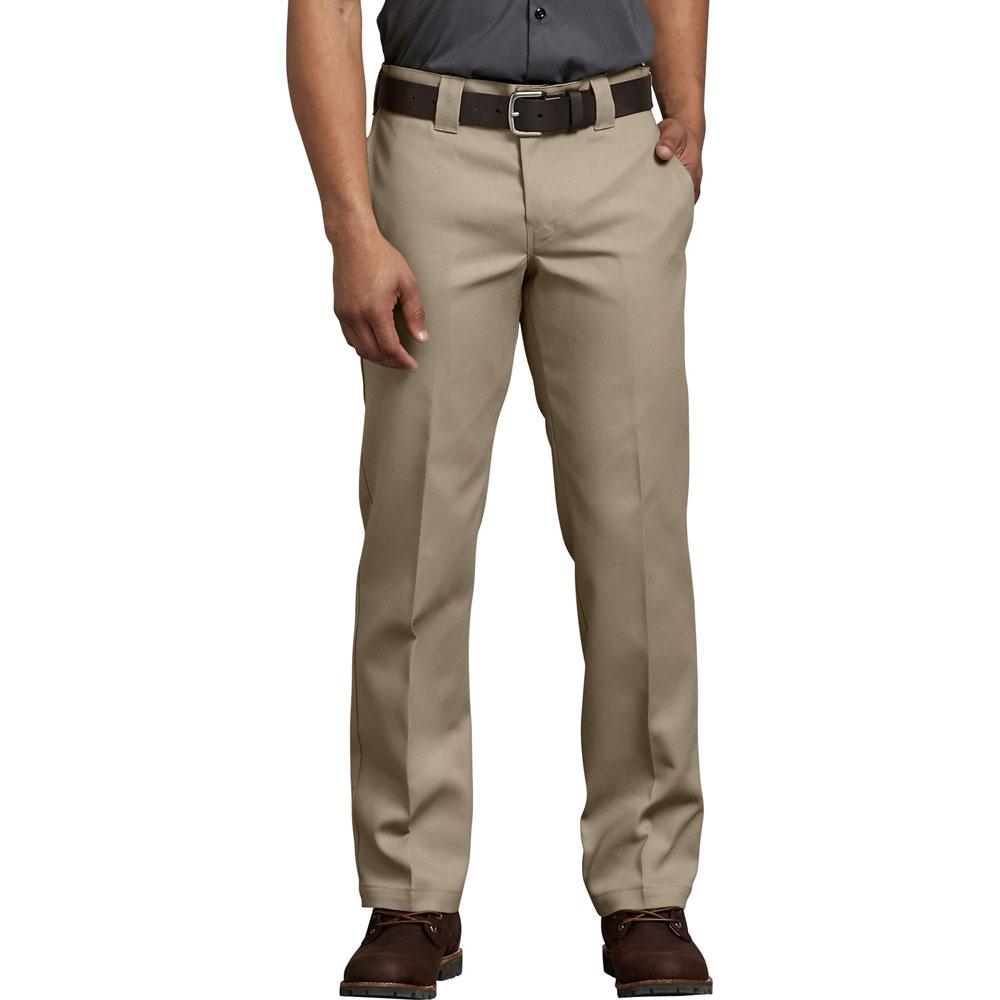 【DICKIES】WP873 低腰經典小直筒斜紋布 工作長褲 (DS 沙色)