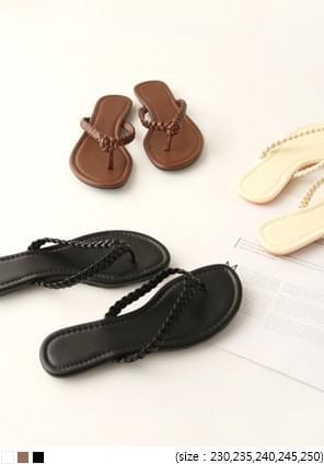 韓國空運 - BERORAN TWIST FLIP FLOP SLIPPER 涼鞋