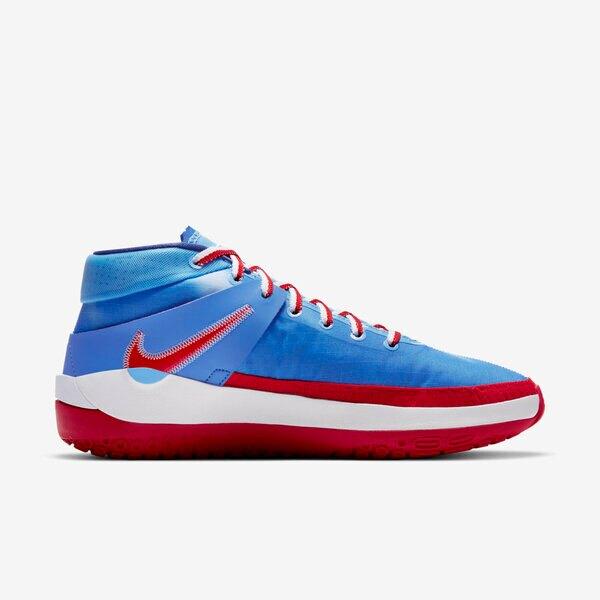 Nike Kd13 Ep [DC0007-400] 男鞋 籃球鞋 運動 透氣 緩震 舒適 支撐 柔軟 彈力 藍 紅