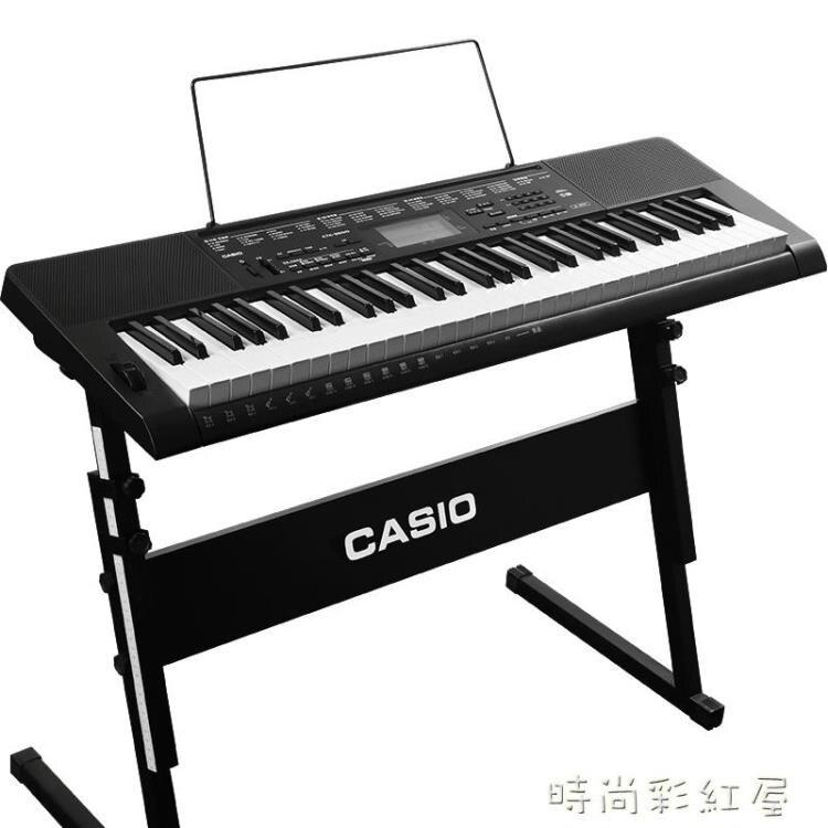 卡西歐電子琴CTK-3500力度教學61鍵 幼師入門初學兒童成人電子琴MBS『