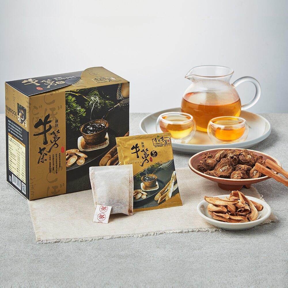 青玉牛蒡茶 原味牛蒡茶包(6g*16包/盒)