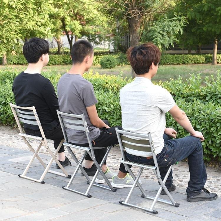 車馬客戶外便攜摺疊椅子摺疊凳小馬扎小板凳釣魚椅子家用小凳子 ATF 艾瑞斯