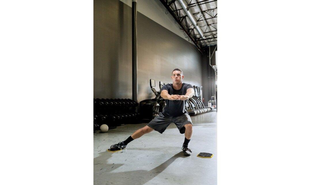 【SKLZ體能】六角核心滑行組合墊 Slidez 2入裝【體能】【核心訓練】核心滑行 核心肌群 滑行盤 雙面使用 2入【美國原廠】【正元精密】【正品】
