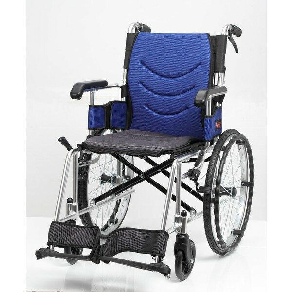 《好禮4選2》均佳機械式輪椅-鋁合金(中輪)JW-230(可代辦長照補助款申請)JW230
