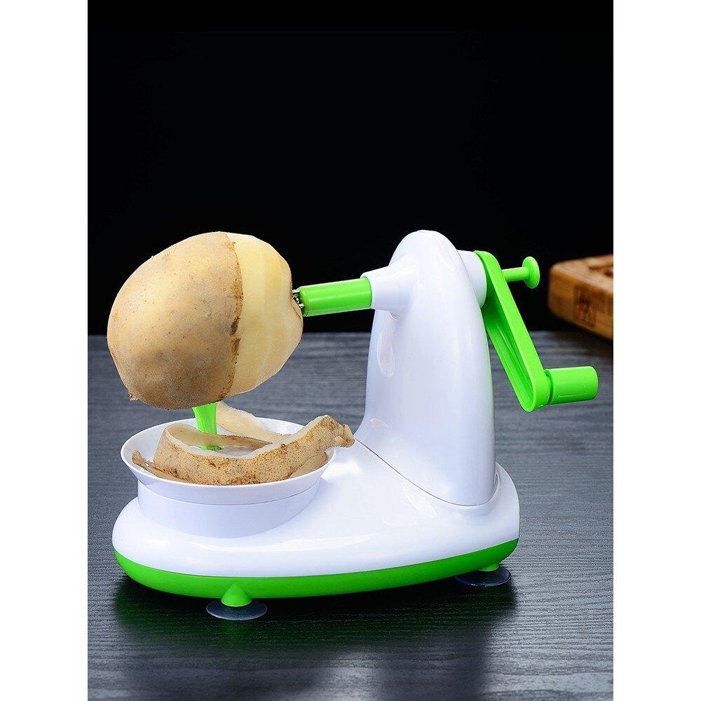 【快速出貨】削皮機 蘋果削皮神器全自動去皮機多功能手搖消水果銷皮刀廚房家用削皮刀