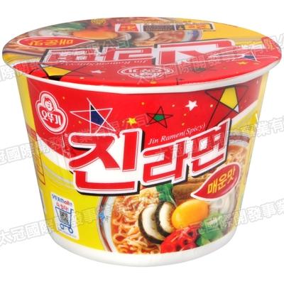 不倒翁 金拉麵碗麵-辣味(110g)
