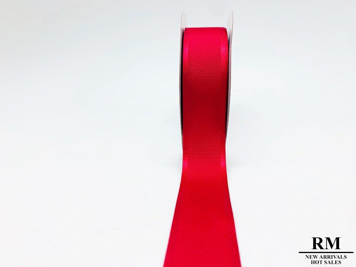 雙邊緞面 素面 羅紋緞帶 -25MM (共四色)