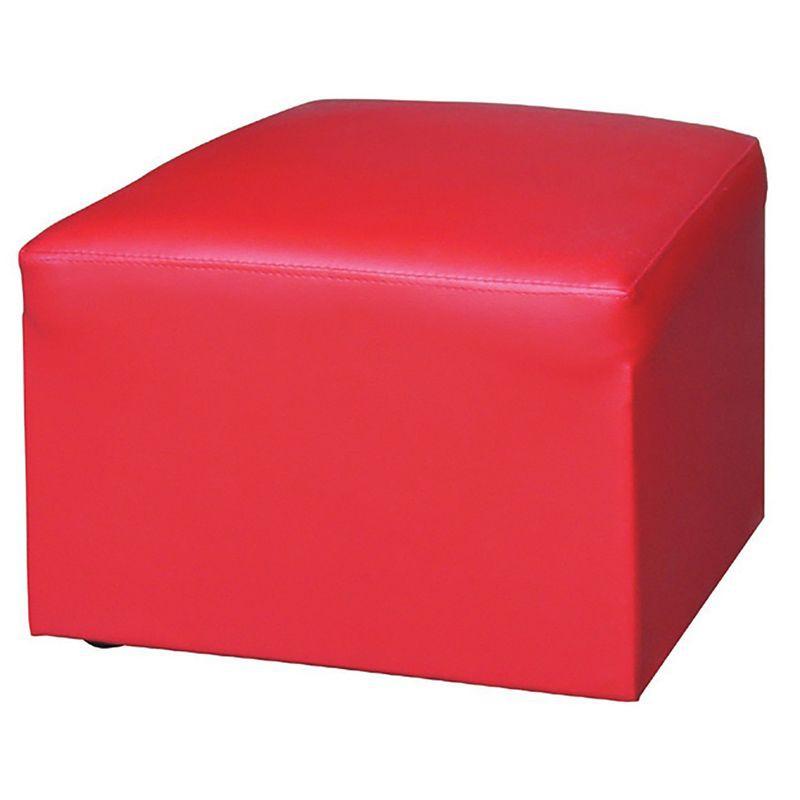 【CB04-01】小四角腳椅(紅)
