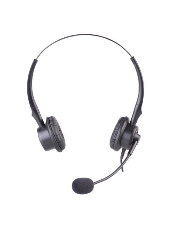 頭戴式耳機 杭普 VT200D 電話耳機客服耳麥外呼話務員耳麥座機頭戴式電銷專用 快速出貨