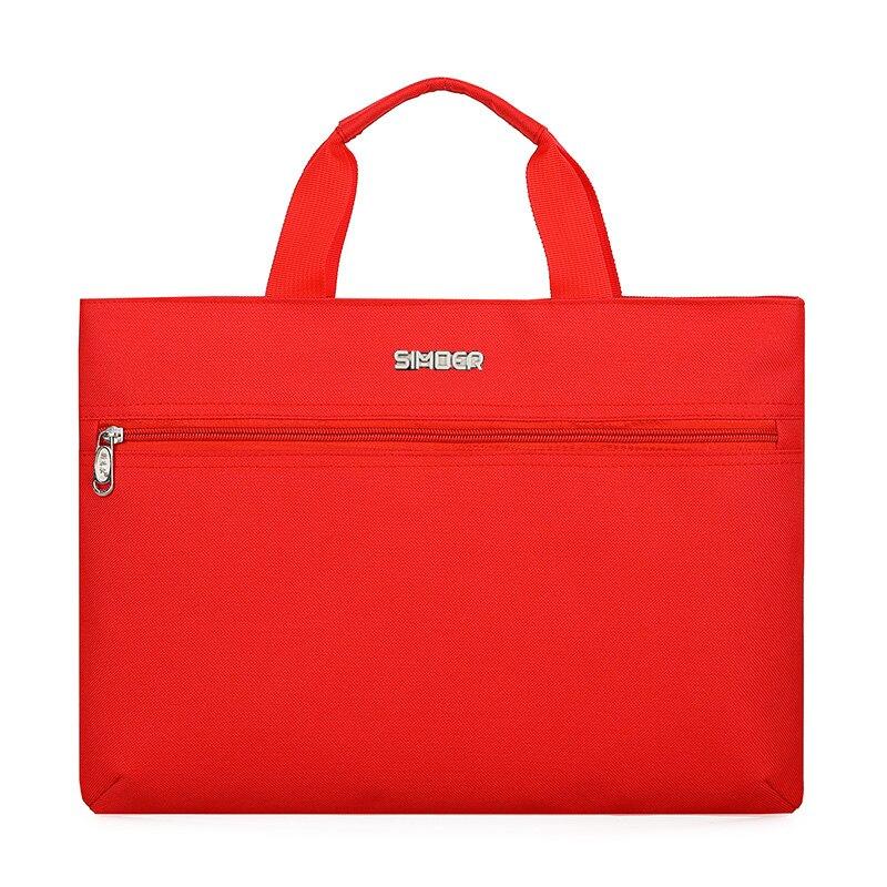 公事包 斯莫爾男包手提包牛津布商務包大容量公文包會議袋文件袋資料袋『XY20885』