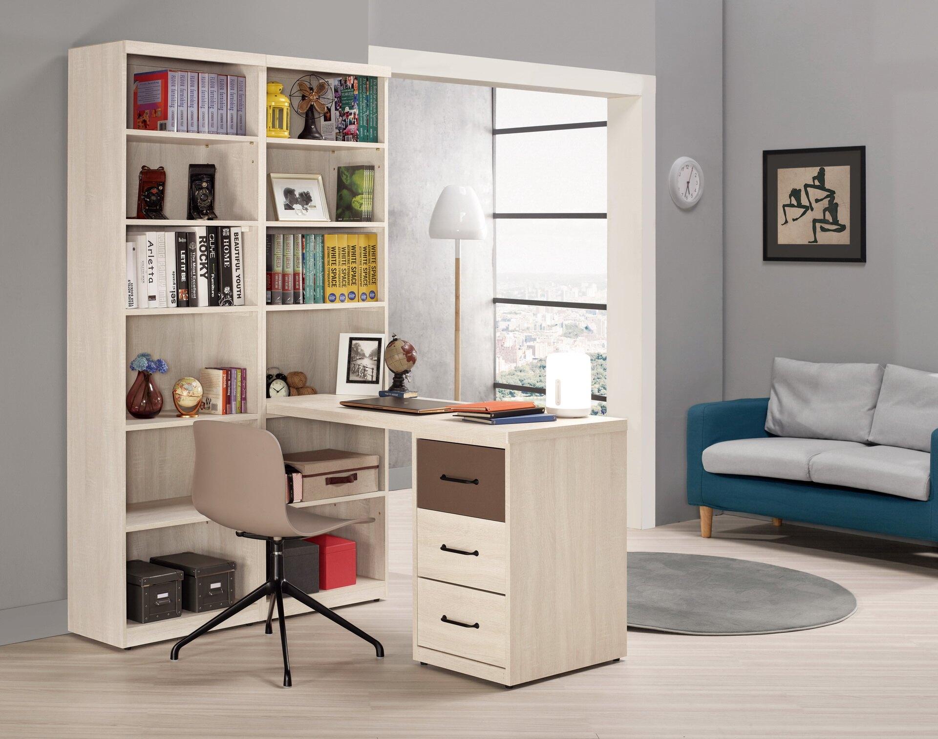 【尚品家具】CM-900-2 戴維斯2尺開放書櫥