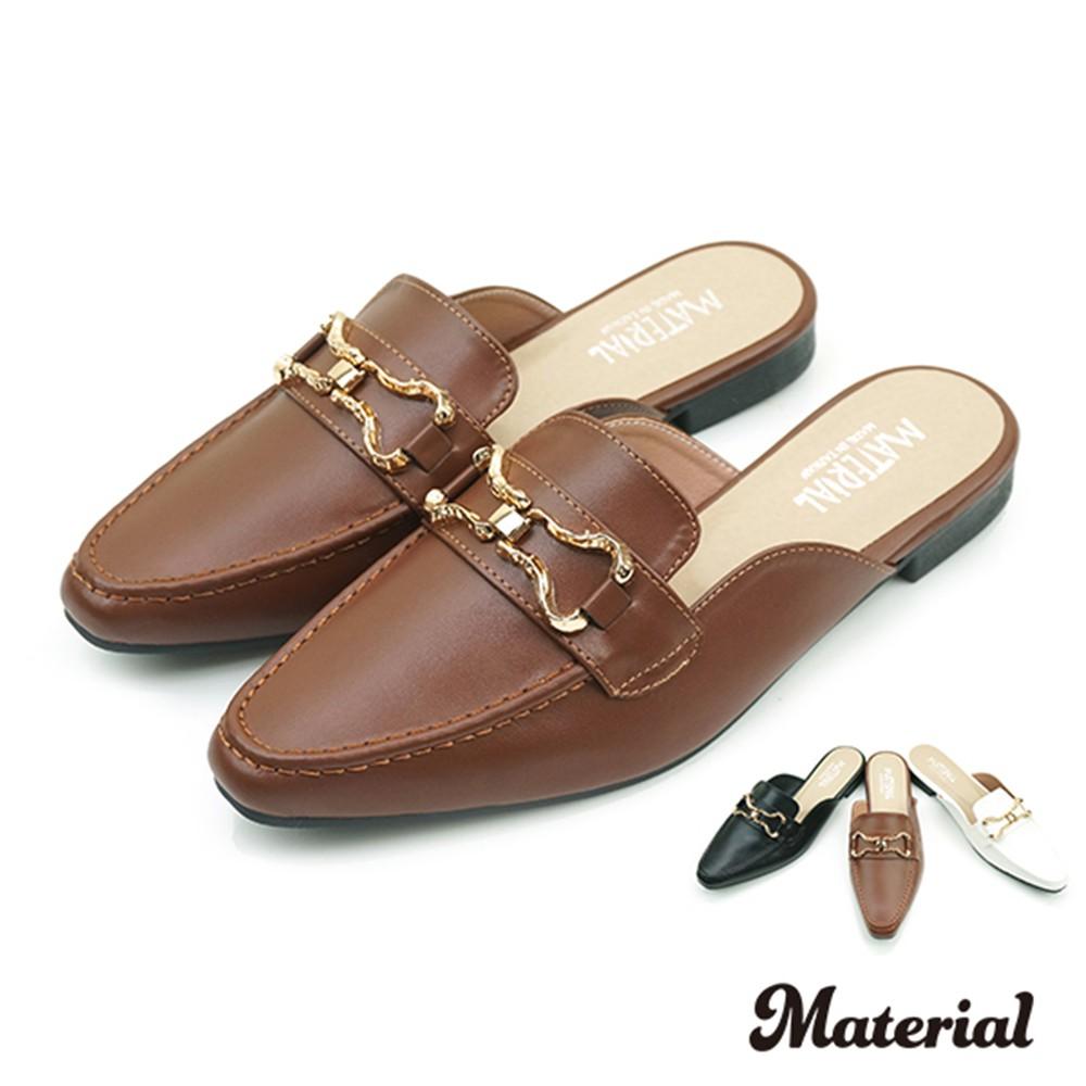 穆勒鞋 銜釦紳士穆勒鞋 T2519