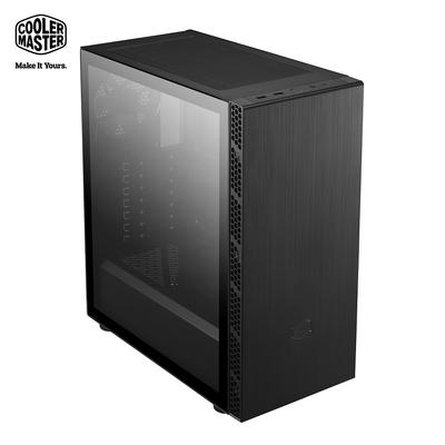 Cooler Master MasterBox MB600L V2 標準版 電腦機殼(玻璃透明側板/髮絲面板)