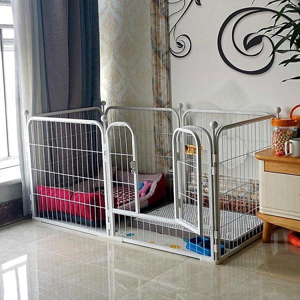 狗圍欄泰迪室內小型犬中型犬金毛大型犬狗狗籠子小狗寵物兔子柵欄【母情節禮物】