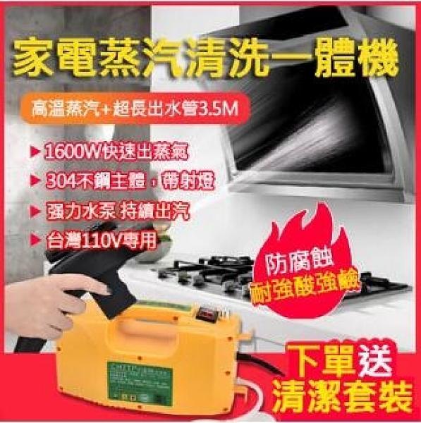 高壓清洗機 高溫高壓蒸汽清潔機 家電清洗機 高壓低壓一鍵操作 污漬清潔 除油煙神器【免運】