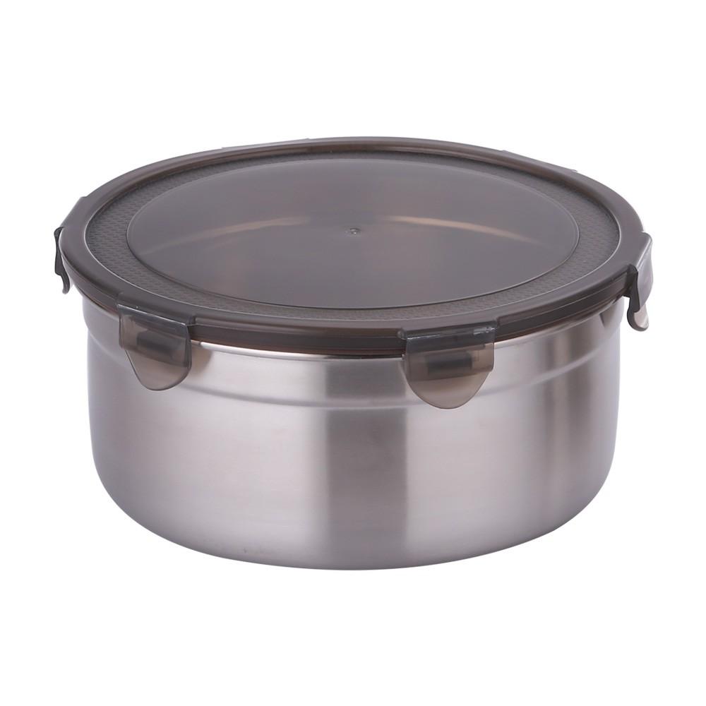 【韓國Metal lock】 圓形不銹鋼保鮮盒 共7款《WUZ屋子》不鏽鋼保鮮盒 便當盒 野餐盒 環保餐盒