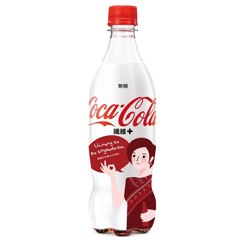 可口可樂纖維+ Pet-600mlx24