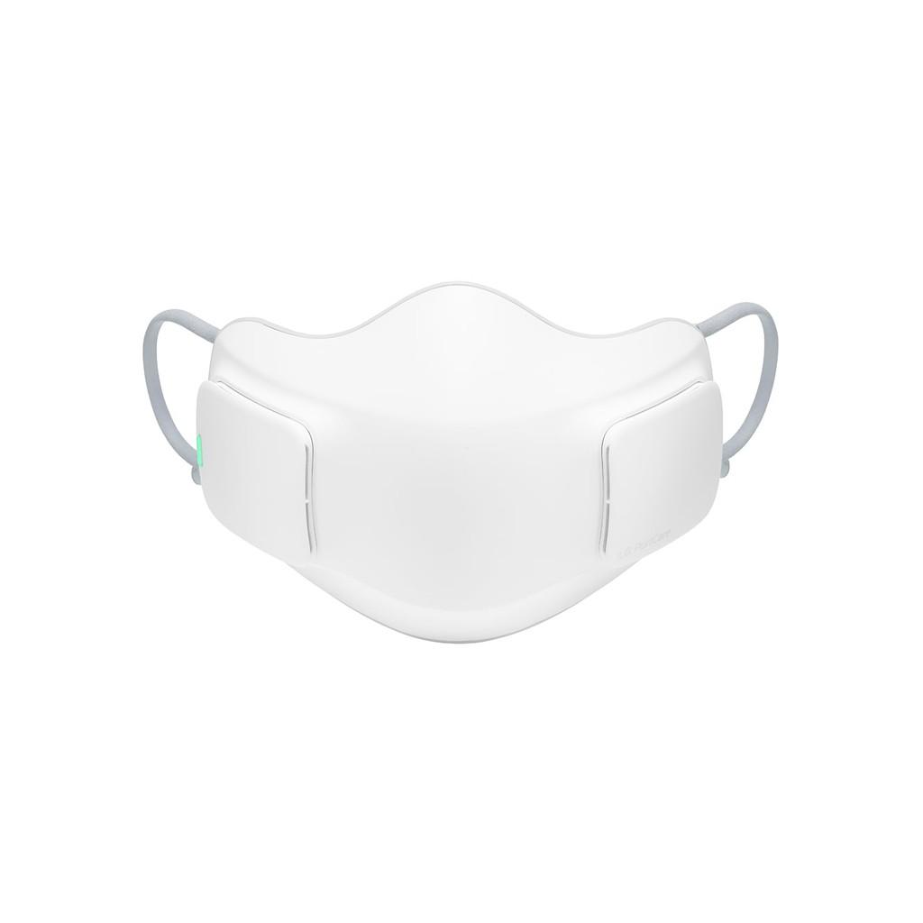 【LG 樂金】韓製PuriCare 口罩型空氣清淨機 全效防護濾網(HEPA 13) 白色 AP300AWFA