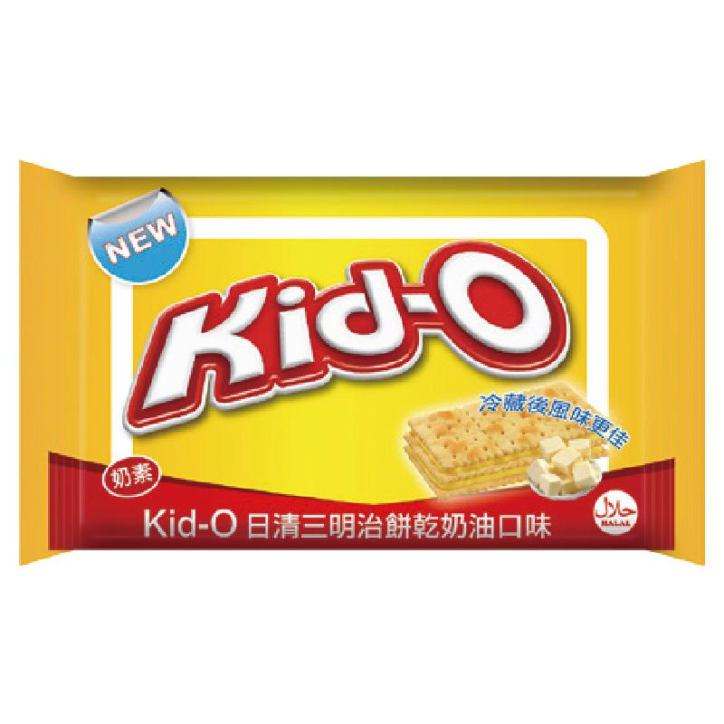 Kid-O日清三明治餅乾(奶油口味)340g