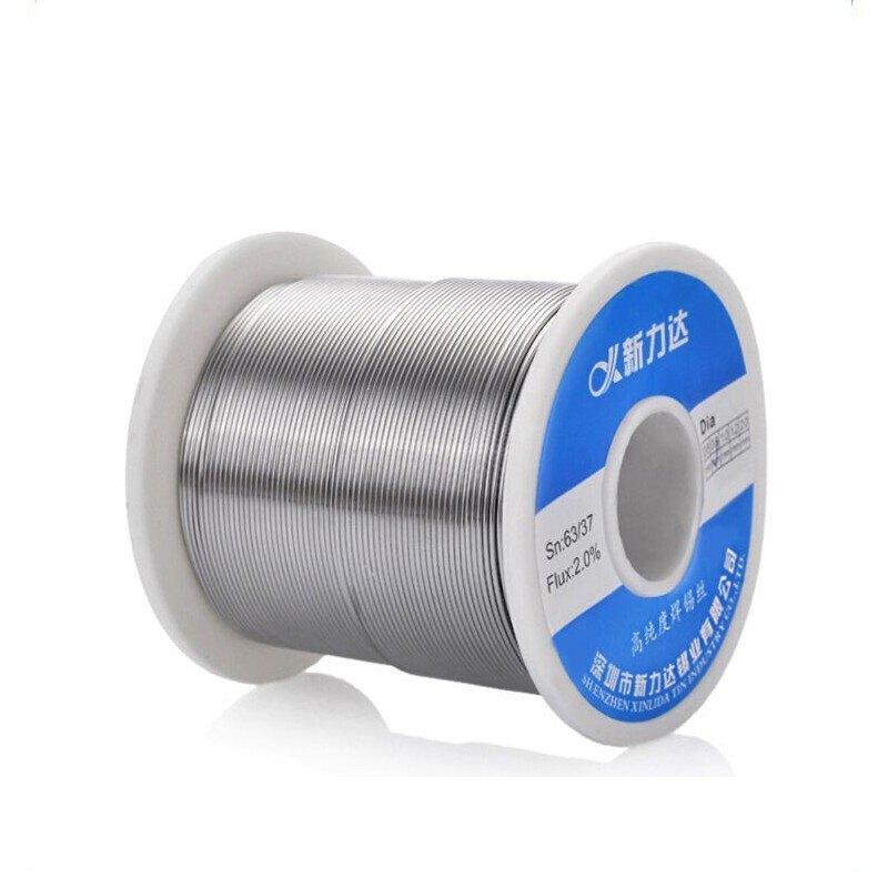 ₪包郵松香芯焊錫絲高亮度免洗焊錫絲有鉛錫線錫絲1.0mm0.8mm500克 全館八八折