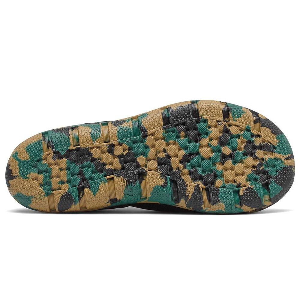 【滿額最高折318】New Balance 208 W 童鞋 大童 涼鞋 休閒 防水 透氣 迷彩 黑【運動世界】YO208CK2