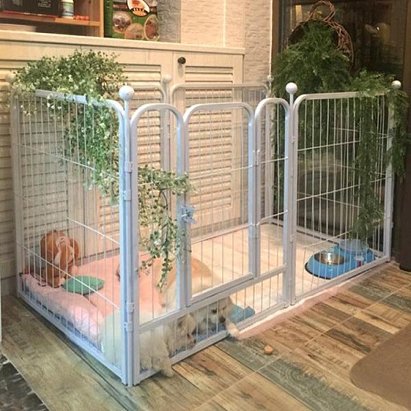 狗狗圍欄大型犬小型犬家用中型犬狗柵欄狗狗圍欄柵欄室內寵物圍欄【母情節禮物】