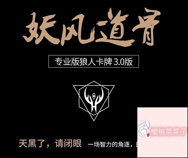 防水塑膠PVC防偷窺狼人桌游殺卡牌專業版鐵質牌盒【櫻桃菜菜子】