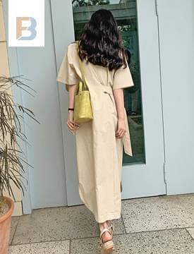 韓國空運 - D ring point Dress 長洋裝