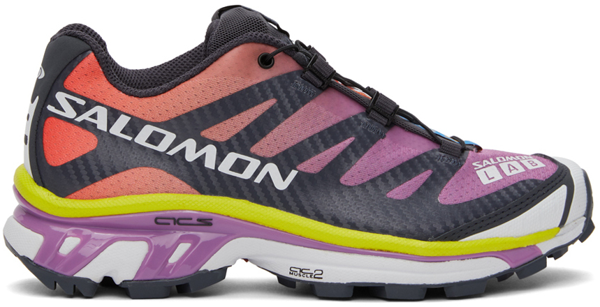 Salomon 紫色 XT-4 Advanced 运动鞋