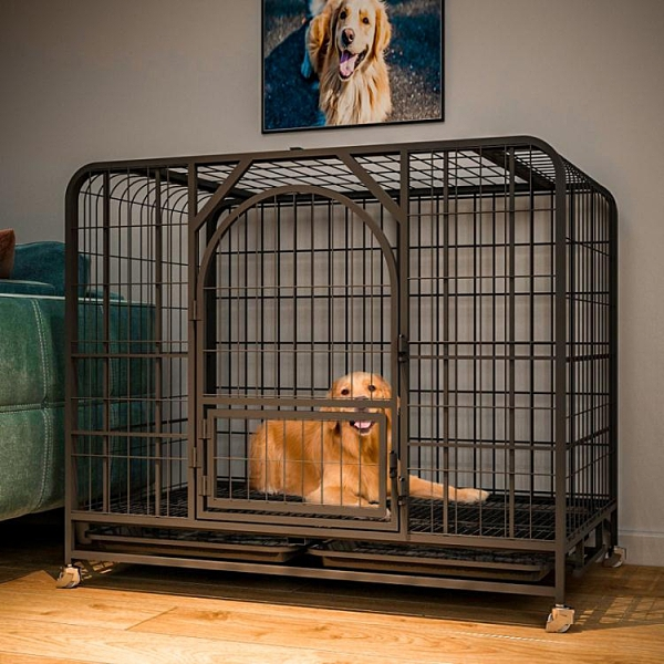 狗圍欄中大型犬寵物狗狗室內帶廁所分離圍欄柯基拉布拉多金毛家用【母情節禮物】