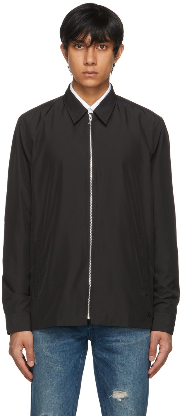 HUGO 黑色 Eldorf 衬衫