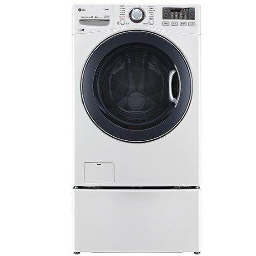 LG 滾筒洗脫烘-16KG+下層2.5KG洗衣機WD-S16VBD+WT-D250HW【三井3C】