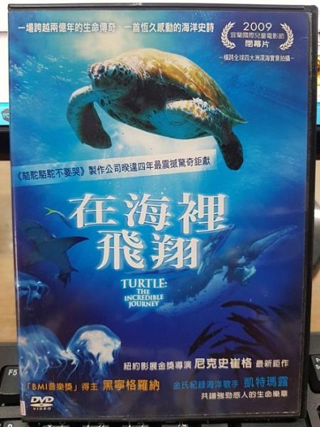 挖寶二手片-0B02-661-正版DVD-電影【在海裡飛翔】-跨越兩億年的生命傳奇海洋歌手凱特瑪露(直購價)