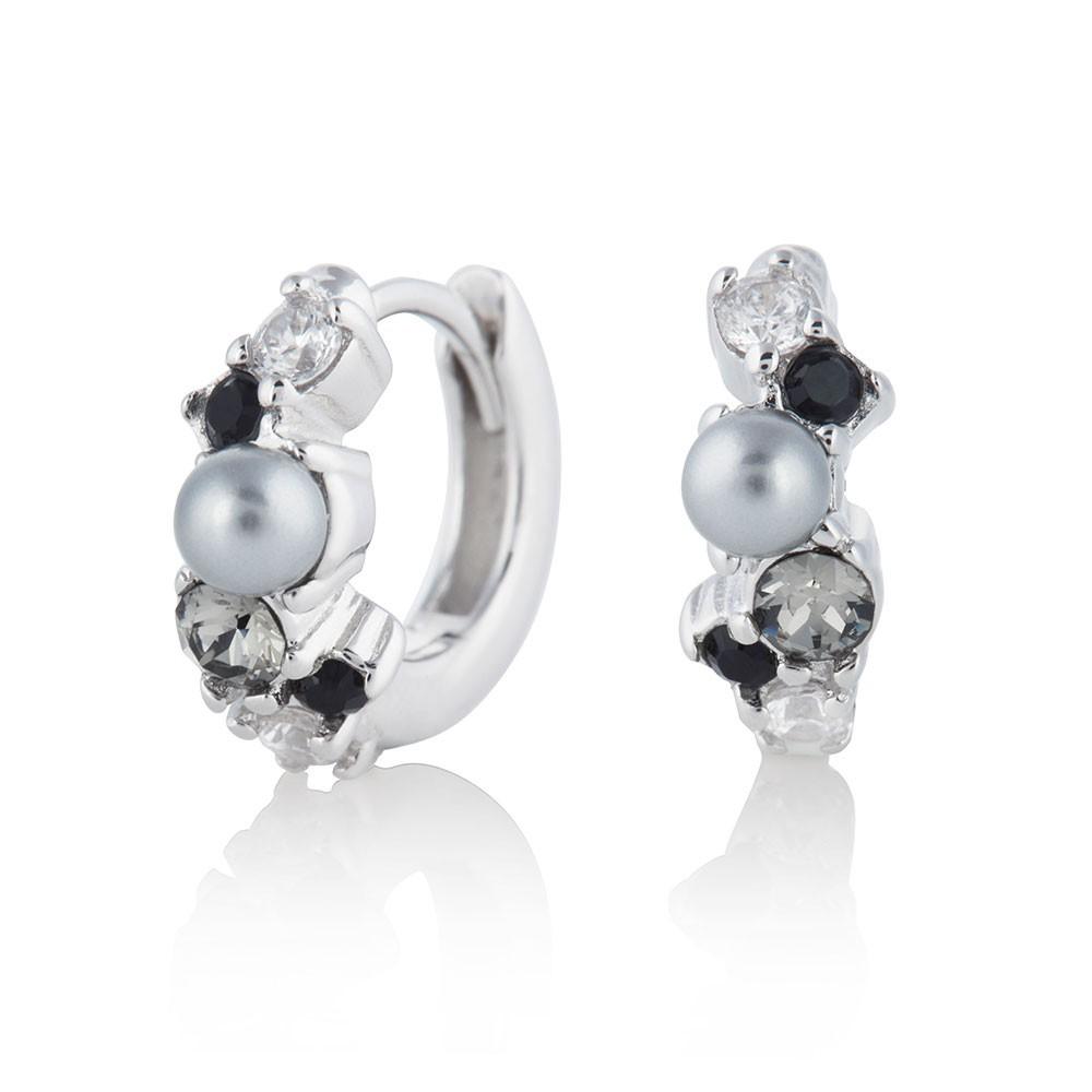 Olivia Burton │ 英國 │ 銀色海洋珍珠耳環 OBJSCE04