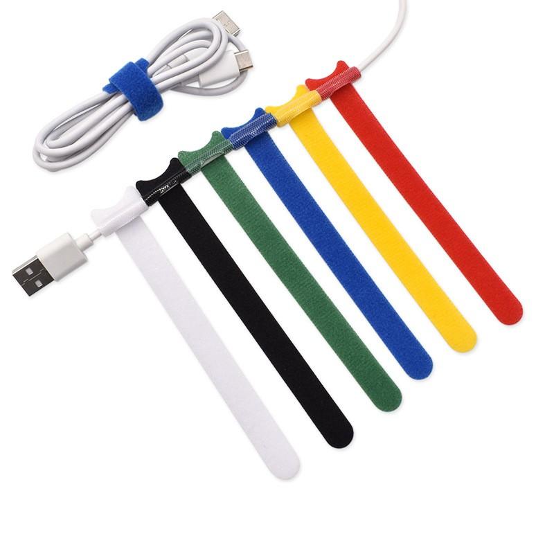 貓咪魔鬼氈電線束帶 理線帶 集線器 束線帶 束帶 綁線 電線 耳機線 充電線收納 3C 【RD1544】《Jami》