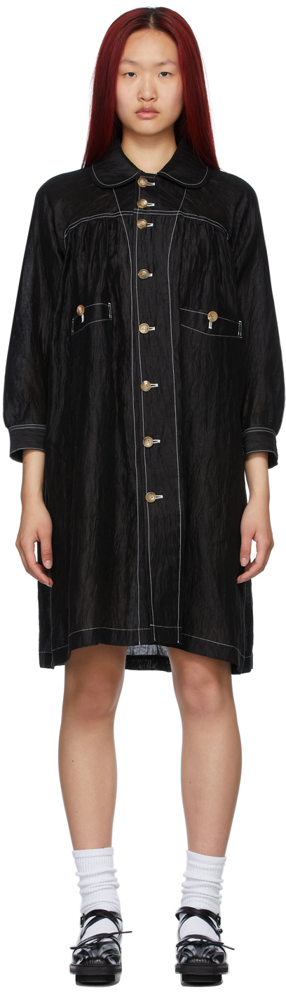 Tricot Comme des Garçons 黑色 Washer 连衣裙