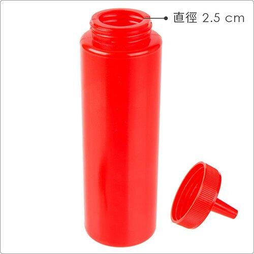 《Utopia》擠壓調味罐(紅250ml)