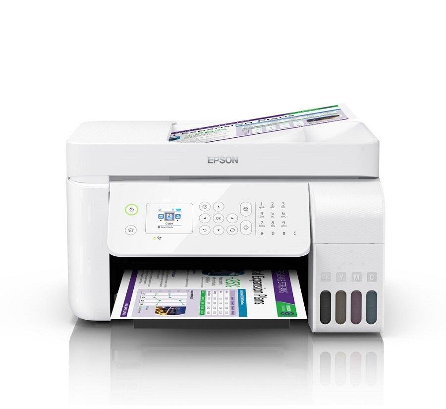 【加購墨水官網登錄送好禮】EPSON L5196 雙網四合一連續供墨複合機【列印/影印/掃描/傳真/WIFI】