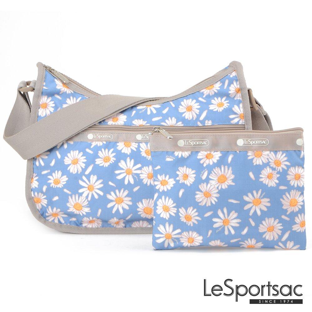 LeSportsac - Standard 側背水餃包/流浪包-附化妝包 (小雛菊)