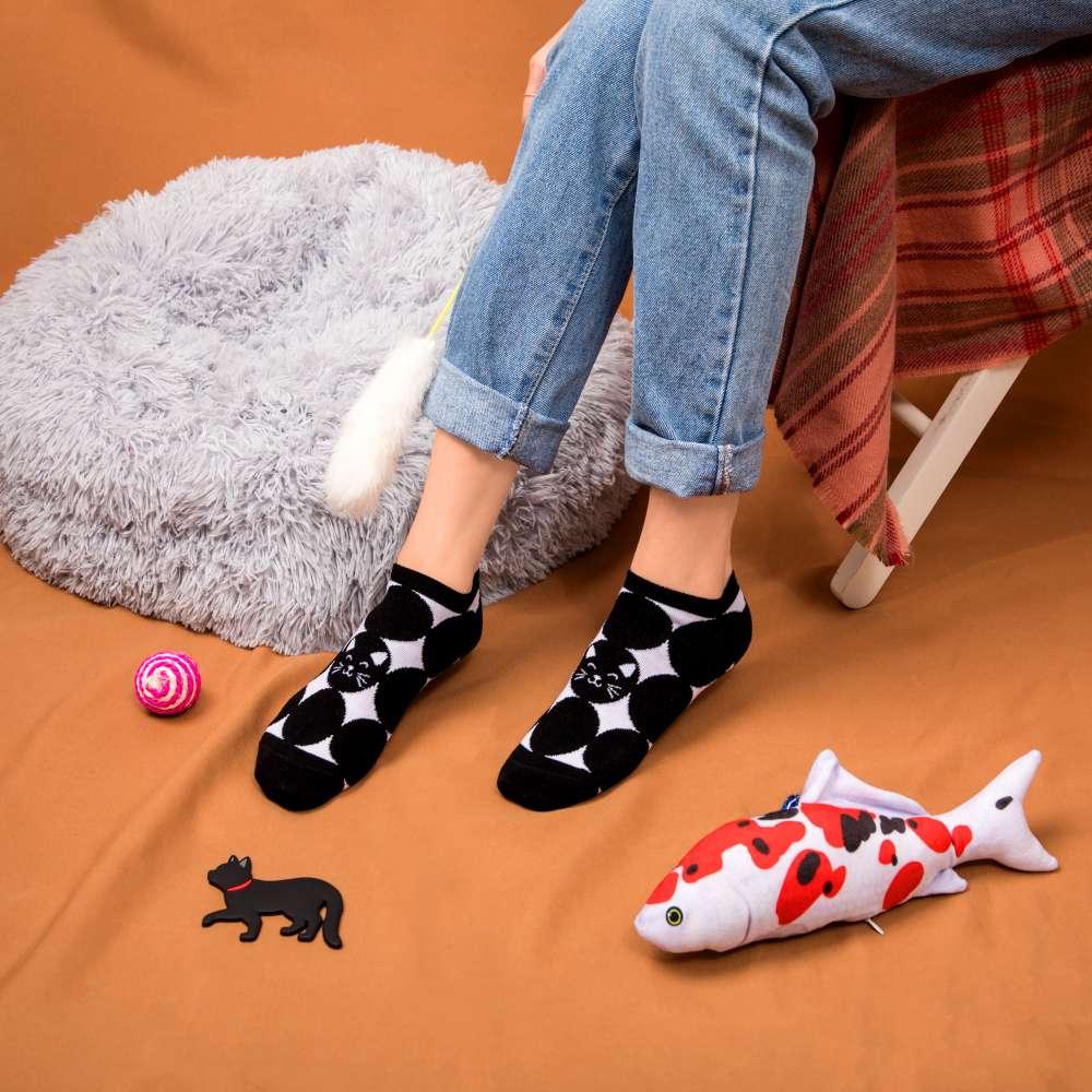 黑澀會美貓-船型襪-經典黑(S6600811M)
