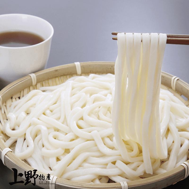 【上野物產】熟凍勁道烏龍麵 (180g±10%/包)