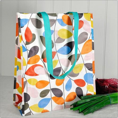《Rex LONDON》環保購物袋(彩葉)