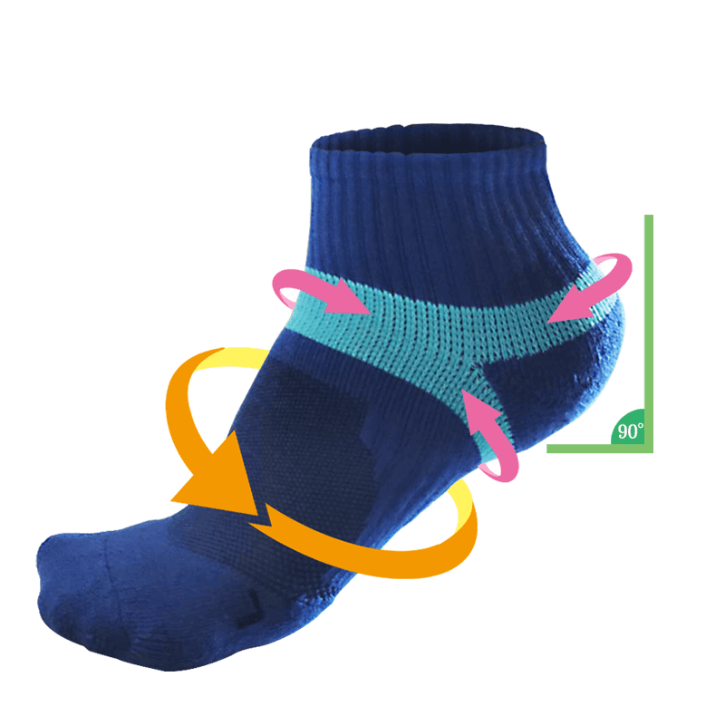台灣製MIT萊卡彈力除臭防護機能襪