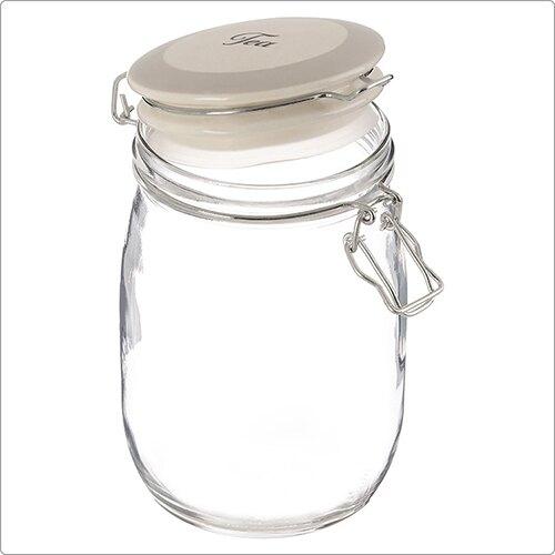 《Premier》茶葉玻璃密封罐(1L)