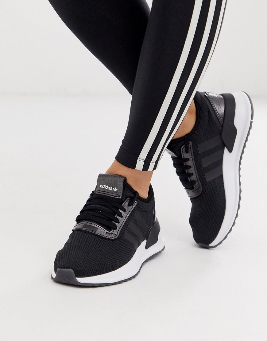 adidas Originals U Path Run trainers in black