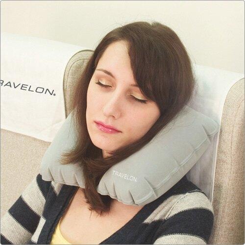 《TRAVELON》旅行充氣枕