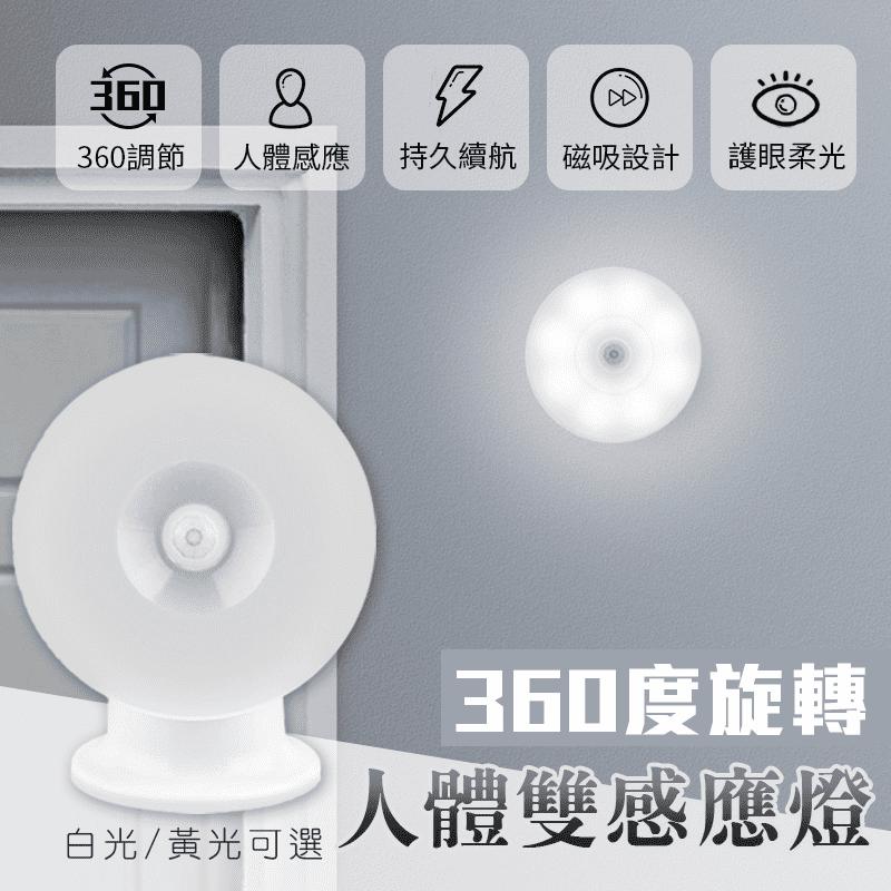 LED 磁吸旋轉雙感應燈