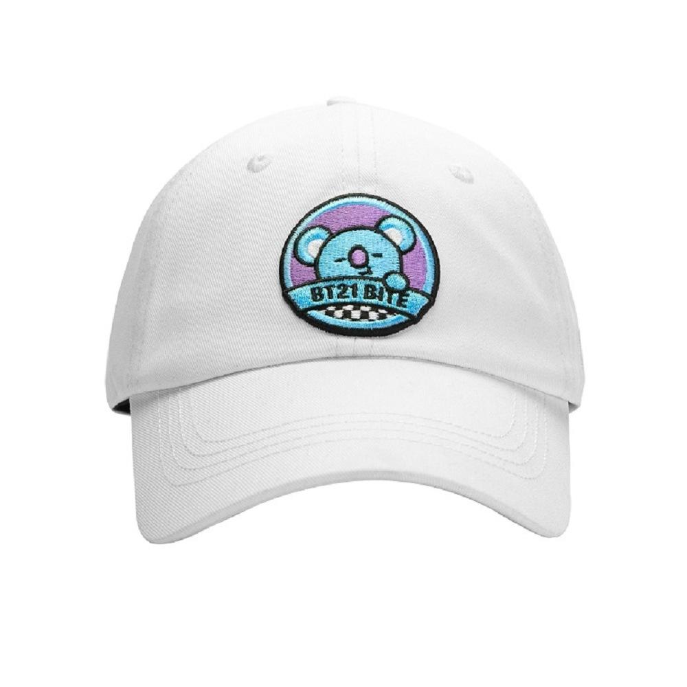 BT21 KOYA 棒球帽(白)